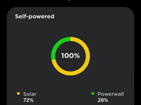 January 2019 self-powered performance.